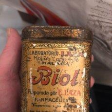 Cajas y cajitas metálicas: BONITA CAJITA DE FARMACIA ANTIGUA. Lote 188515373