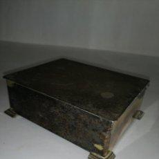 Cajas y cajitas metálicas: CAJA METÁLICA ALPADUR. Lote 189425625