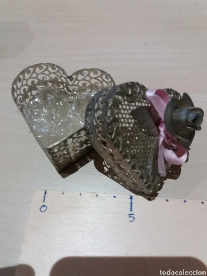 Cajas y cajitas metálicas: Cajita antigua perfumador - Foto 2 - 189498113