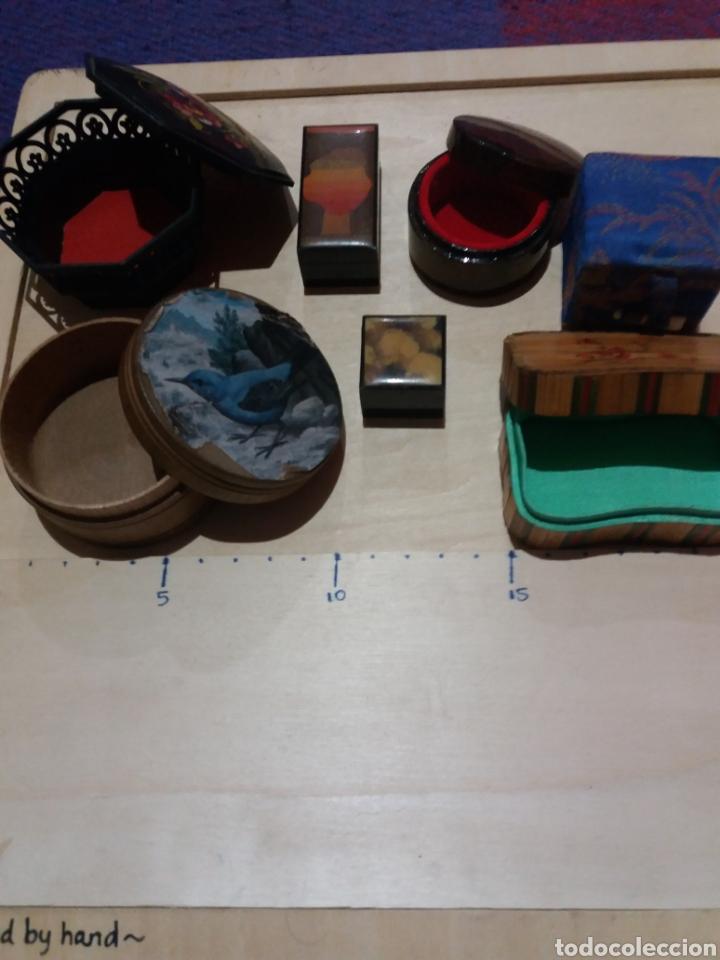 Cajas y cajitas metálicas: Lote cajitas varias para coleccionar - Foto 2 - 189698486