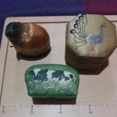 Cajas y cajitas metálicas: LOTE 3 CAJITAS COLECCIONABLE. Lote 189699877