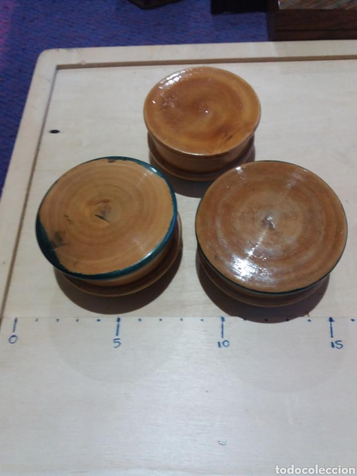 Cajas y cajitas metálicas: 3 cajitas de madera - Foto 3 - 189703726