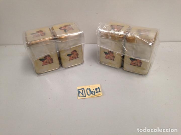 LOTE DE CAJITAS METÁLICAS (Coleccionismo - Cajas y Cajitas Metálicas)