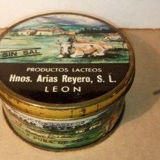 Cajas y cajitas metálicas: CAJA DE COLECCIÓN-REDONDA- HNº ARIAS REYES. Lote 190461450