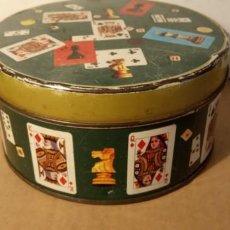 Cajas y cajitas metálicas: CAJA DE COLECCIÓN- REDONDA- CARAMELOS SOLANO. Lote 190462252