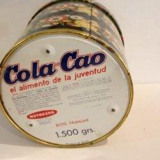 Cajas y cajitas metálicas: CAJA DE COLECCIÓN- REDONDA DE COLA-CAO, RARA. Lote 190536282