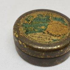 Cajas y cajitas metálicas: PASTILLAS VALDA CAJA DE METAL - 7 CM DIAMETRO - CAR169. Lote 191533601