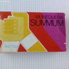 Cajas y cajitas metálicas: CAJA DE LA MUÑEQUERA SUNNUN - FARMACIA - PARA DEPORTE - BLANCO. Lote 192098843