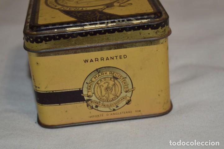 Cajas y cajitas metálicas: ANTIGUA CAJA DE HOJALATA - Eadies Improved Ring T. - Muy bonita, buen estado ¡Mira fotos/detalle! - Foto 4 - 192822281
