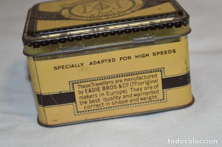 Cajas y cajitas metálicas: ANTIGUA CAJA DE HOJALATA - Eadies Improved Ring T. - Muy bonita, buen estado ¡Mira fotos/detalle! - Foto 5 - 192822281
