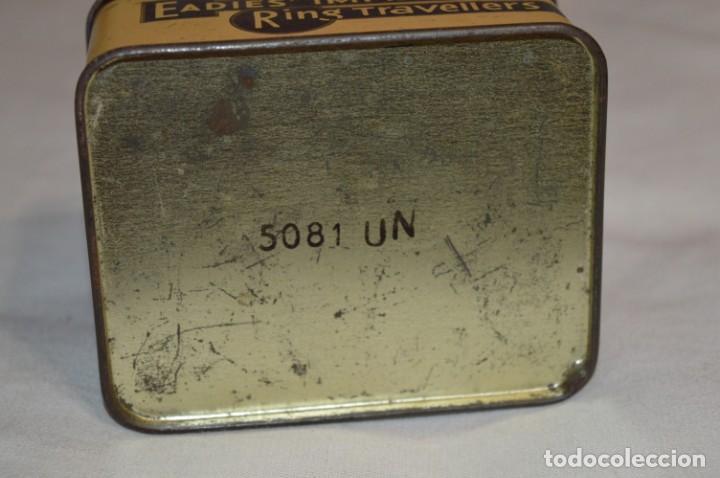 Cajas y cajitas metálicas: ANTIGUA CAJA DE HOJALATA - Eadies Improved Ring T. - Muy bonita, buen estado ¡Mira fotos/detalle! - Foto 7 - 192822281