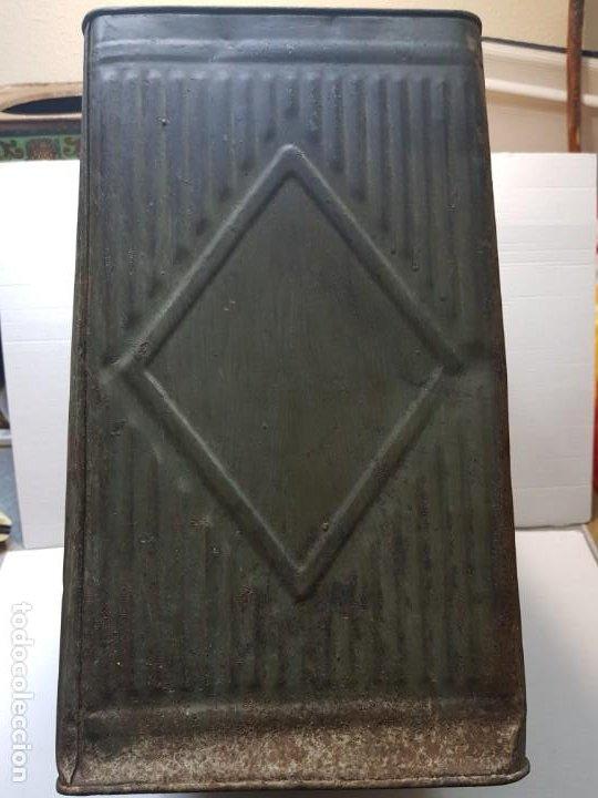 Cajas y cajitas metálicas: Lata Hojalata Grande de Confeteria con grabados - Foto 4 - 193276910