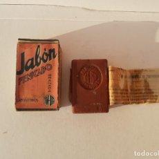 Cajas y cajitas metálicas: PASTILLA DE JABON FENICADO GRANADA LAB. IM-BA AÑOS 30. Lote 193352167