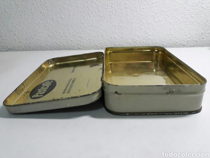 Cajas y cajitas metálicas: Caja de hojalata antigua litografiada pastcafe logroño ,litografia flamenca - Foto 5 - 194223996