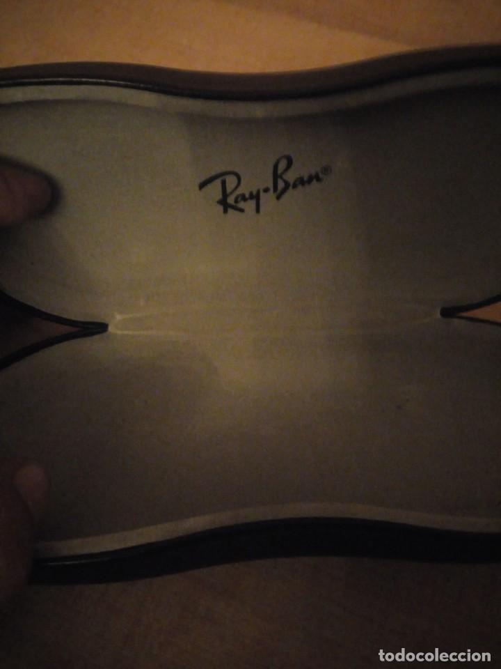 Cajas y cajitas metálicas: funda de gafas ray ban - Foto 4 - 194242171