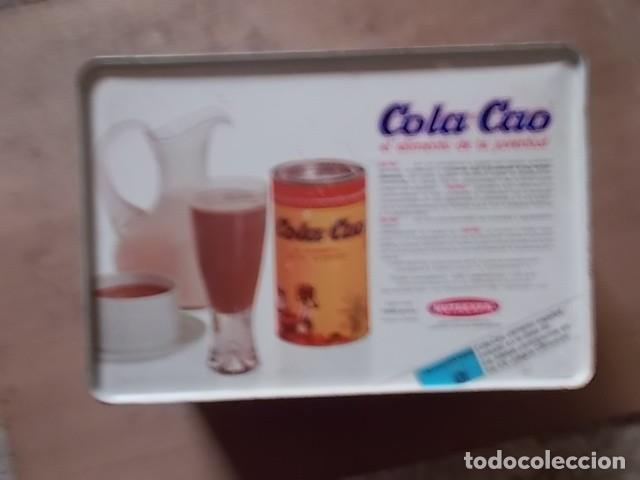 Cajas y cajitas metálicas: antigua caja metálica de cola cao - Foto 3 - 194245776