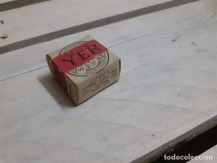 CAJA DE FARMACIA SELLO YER CON CAFEÍNA // SIN DESPRECINTAR (Coleccionismo - Cajas y Cajitas Metálicas)