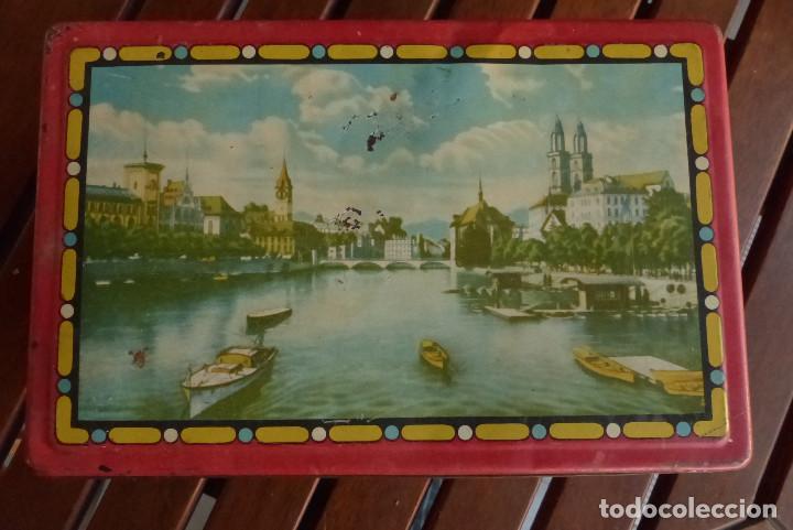 Cajas y cajitas metálicas: CAJA METALICA AZAFRANES Y ESPECIAS ANTIGUA - Foto 2 - 194254210