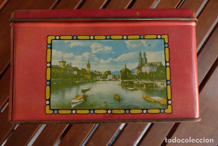 Cajas y cajitas metálicas: CAJA METALICA AZAFRANES Y ESPECIAS ANTIGUA - Foto 5 - 194254210