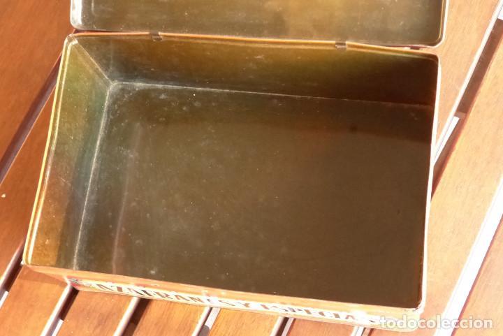 Cajas y cajitas metálicas: CAJA METALICA AZAFRANES Y ESPECIAS ANTIGUA - Foto 7 - 194254210