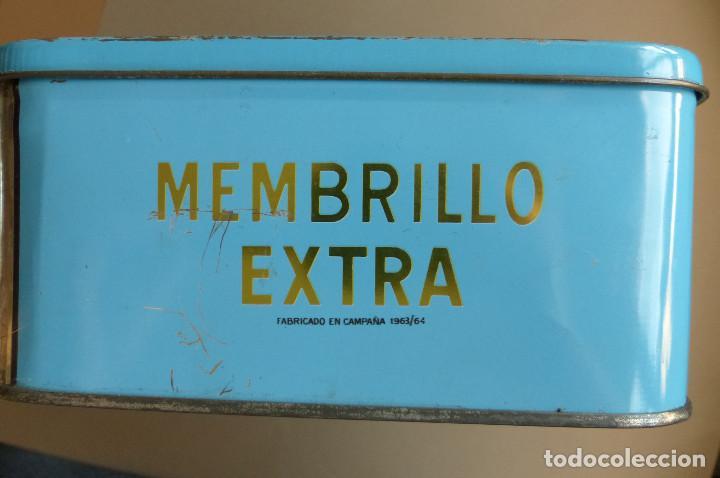 Cajas y cajitas metálicas: CAJA METALICA MEMBRILLO EL DIVINO PASTOR. ANTIGUA. BIEN CONSERVADA - Foto 5 - 194254258