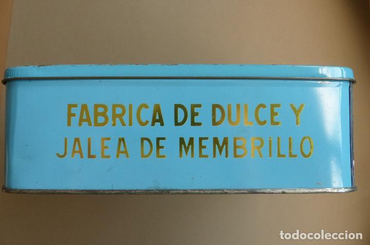 Cajas y cajitas metálicas: CAJA METALICA MEMBRILLO EL DIVINO PASTOR. ANTIGUA. BIEN CONSERVADA - Foto 7 - 194254258