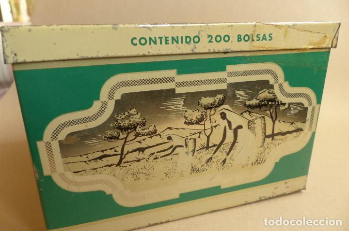 Cajas y cajitas metálicas: LATA TEEKANNE. DE TÉ. METALICA. ANTIGUA - Foto 4 - 194254288