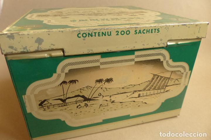 Cajas y cajitas metálicas: LATA TEEKANNE. DE TÉ. METALICA. ANTIGUA - Foto 5 - 194254288