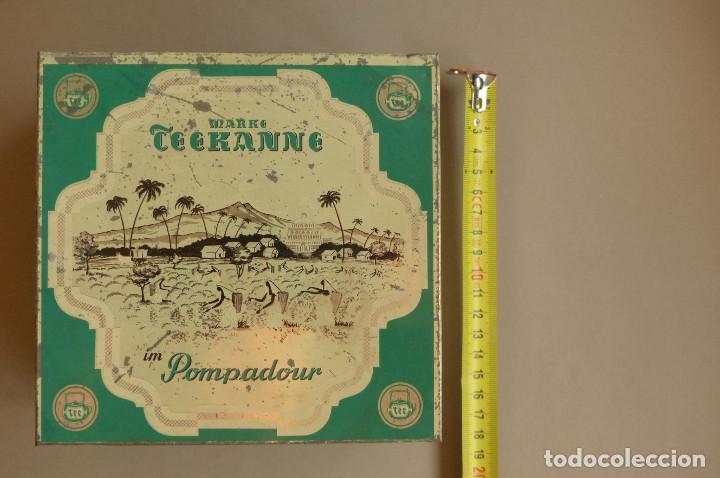 Cajas y cajitas metálicas: LATA TEEKANNE. DE TÉ. METALICA. ANTIGUA - Foto 8 - 194254288