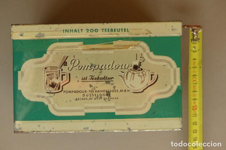 Cajas y cajitas metálicas: LATA TEEKANNE. DE TÉ. METALICA. ANTIGUA - Foto 9 - 194254288