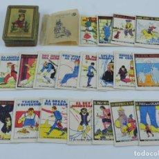 Cajas y cajitas metálicas: CAJA DE HOJALATA LITOGRAFIADA DE JOYAS PARA NIÑOS, CUENTOS DE CALLEJA, ESTUCHE XI, CON LOS 20 CUENTO. Lote 194267561