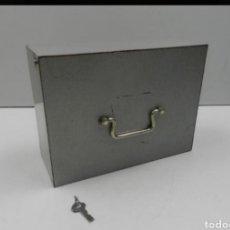 Cajas y cajitas metálicas: CAJA CAUDALES. Lote 194294157