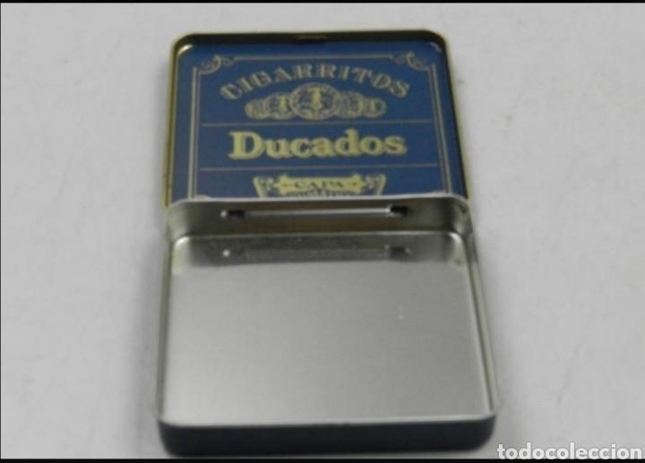Cajas y cajitas metálicas: Caja tabaco Ducados - Foto 2 - 194294300