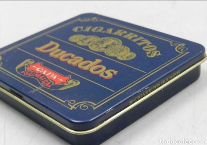 Cajas y cajitas metálicas: Caja tabaco Ducados - Foto 4 - 194294300