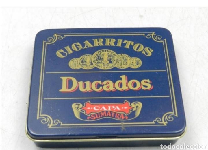CAJA TABACO DUCADOS (Coleccionismo - Cajas y Cajitas Metálicas)
