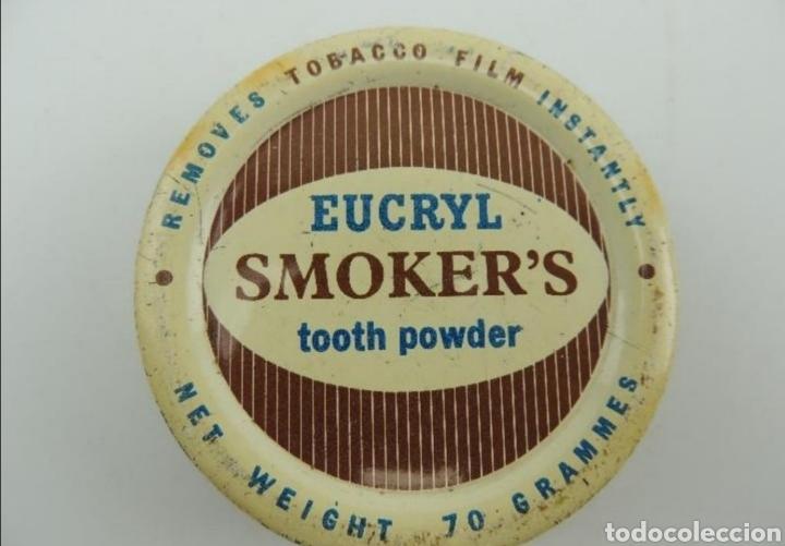 CAJA SMOKER'S INGLESA (Coleccionismo - Cajas y Cajitas Metálicas)