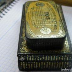 Cajas y cajitas metálicas: LOTE CAJAS PARA LA TOS--MAS LOTES GANADOS MAS DESCUENTO. (ELCOFREDELABUELO). Lote 194345623