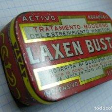 Cajas y cajitas metálicas: CAJA DE CHAPA LAXEN BUSTO--MAS LOTES GANADOS MAS DESCUENTO. (ELCOFREDELABUELO). Lote 194346261