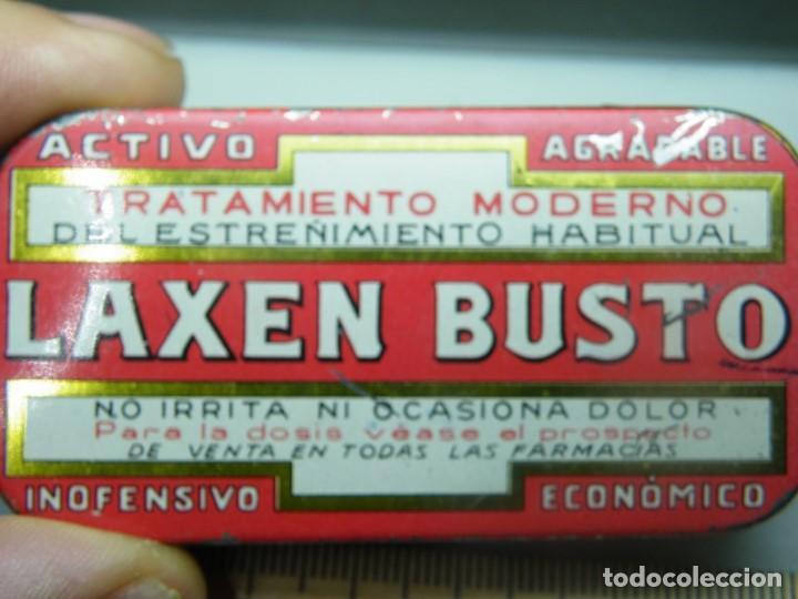 Cajas y cajitas metálicas: Caja de chapa Laxen Busto--MAS LOTES GANADOS MAS DESCUENTO. (elcofredelabuelo) - Foto 3 - 194346261