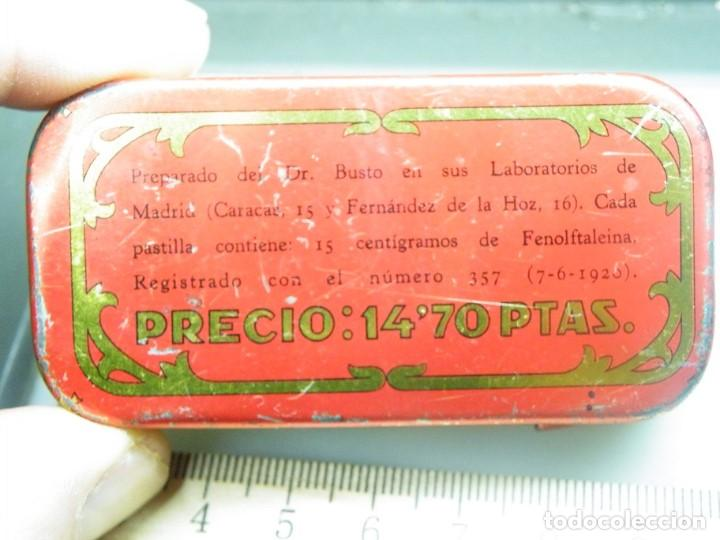 Cajas y cajitas metálicas: Caja de chapa Laxen Busto--MAS LOTES GANADOS MAS DESCUENTO. (elcofredelabuelo) - Foto 4 - 194346261
