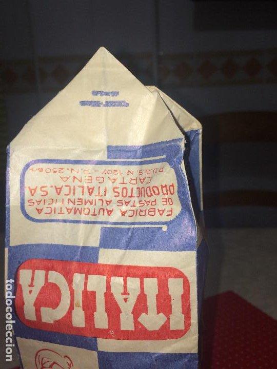 Cajas y cajitas metálicas: PRODUCTOS ITÁLICA, S. A. - CARTAGENA - ENVASE DE PASTAS ALIMENTICAS - AÑOS 50/60 - Foto 2 - 194353195