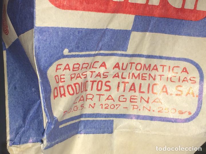 Cajas y cajitas metálicas: PRODUCTOS ITÁLICA, S. A. - CARTAGENA - ENVASE DE PASTAS ALIMENTICAS - AÑOS 50/60 - Foto 3 - 194353195