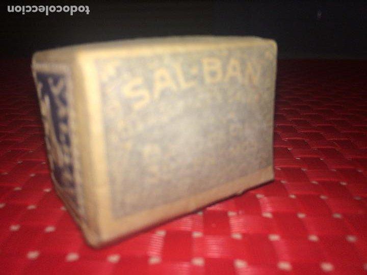 Cajas y cajitas metálicas: SALES PARA BAÑOS DE PIES - SAL-BAÑ - LORAS - VALENCIA - PRECINTADA - AÑOS 30 - 35 CTS. - Foto 2 - 194353560