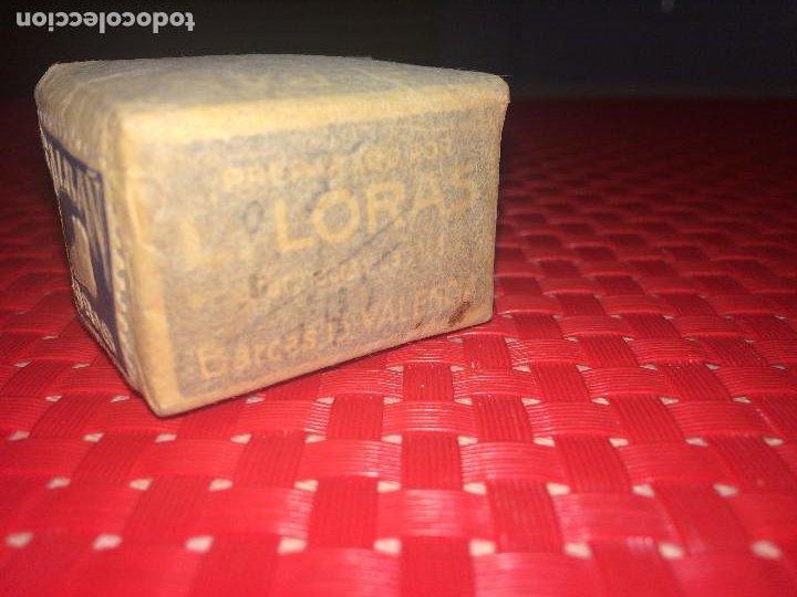 Cajas y cajitas metálicas: SALES PARA BAÑOS DE PIES - SAL-BAÑ - LORAS - VALENCIA - PRECINTADA - AÑOS 30 - 35 CTS. - Foto 3 - 194353560