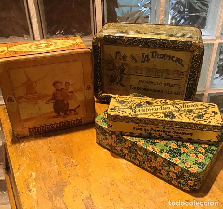 Cajas y cajitas metálicas: ANTIGUAS CAJAS SERIGRAFIADAS - Foto 2 - 194519655