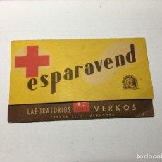 Cajas y cajitas metálicas: ESPARAVEND DE LABORATORIOS VERKOS. Lote 194620532