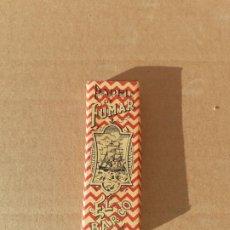 Cajas y cajitas metálicas: PAQUETE DE PAPEL DE FUMAR EL BARCO. Lote 194640742