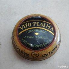 Cajas y cajitas metálicas: CAJA ANTIGUA DE HOJALATA. VITO-PLASMA GRANULADO.. Lote 194684215