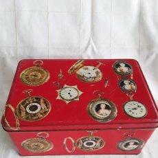 Cajas y cajitas metálicas: CAJA DE HOJALATA COLACAO AÑO 1972. Lote 194690808