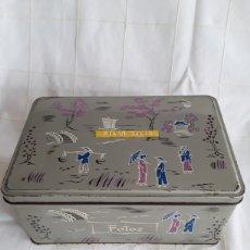 Cajas y cajitas metálicas: CAJA DE HOJALATA COLACAO. Lote 194691240